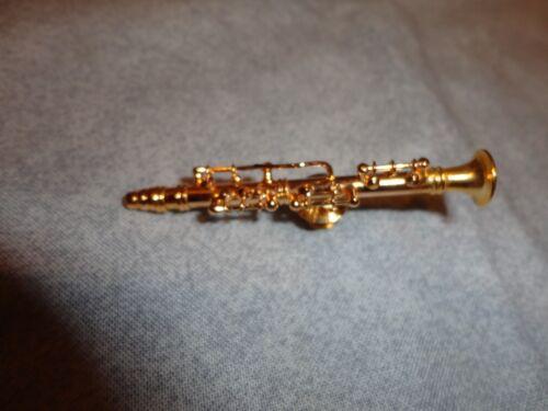 "CLARINET ORNAMENT MUSICAL INSTRUMENT ORNAMENT 3.25/"" NEW"