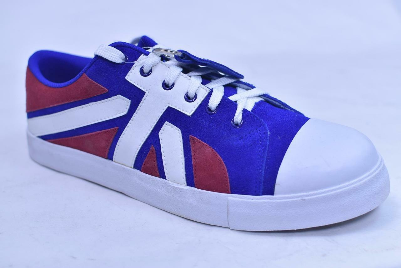 TUK II RED WHITE blueE UNION JACK SUEDE SNEAKERS RARE NEW OLD STOCK UNISEX 5 7
