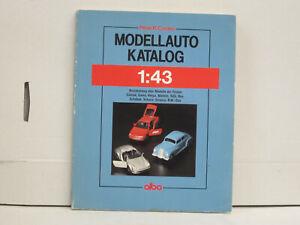 Voiture-miniature-catalogue-1991-1-43-allemand-176-pages-Alba-Verlag
