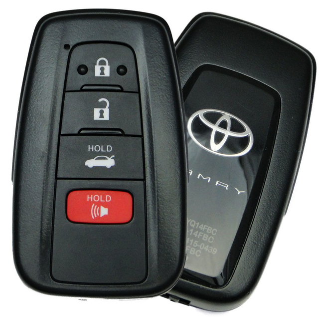 SELEAD Keyless Entry Remote Control 4 Buttons Car Key Fob Clicker Transmitter Black fit for Toyota RAV4 06-10 for Scion xB Wagon 08-12 Antitheft Systems 89070-06231 1pc US Stock