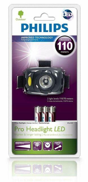 Philips SFL6150/10 Extérieur LED 2 Léger Niveau 110m Gamme Brillant Tête Torche