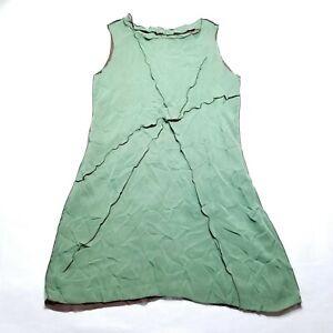 Babette-San-Francisco-Dress-Green-100-Polyester-Womens-Medium