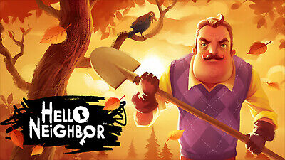 Hello Neighbor Game Steam Key Region Free Global Pc Ebay