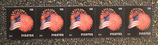 2014USA #4868 Forever Star Spangled Banner (SSP) Coil Strip of 5  Mint NH flag