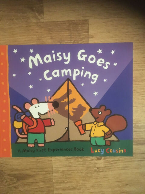 Maisy Goes Camping Lucy Cousins NEW BOOK