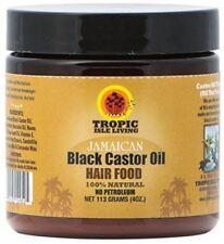 Tropic Isle Living Jamaican Black Castor Oil Hair Food 100 Natural 4oz