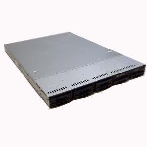 Details about SuperMicro 1U Server X8DTU 2x Intel Xeon E5620 Quad Core  2 40Ghz 32GB 1TB