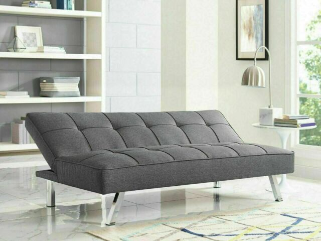 Futon Sofa Bed Queen Size For Apartment APT Couch Convertible Best Klik  Klak RV