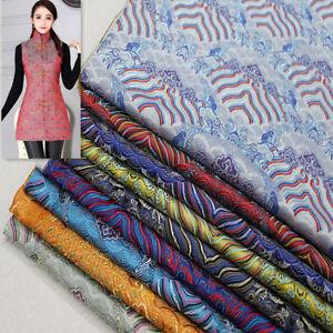 Ancient-Costume-Chinese-Dress-Baby-Cloth-Kimono-Cos-Damask-Jacquard-Wave-Fabric