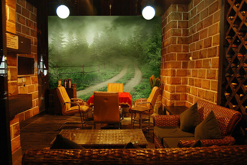 3D Misty Forest 87 Wall Paper Murals Wall Print Wall Wallpaper Mural AU Kyra