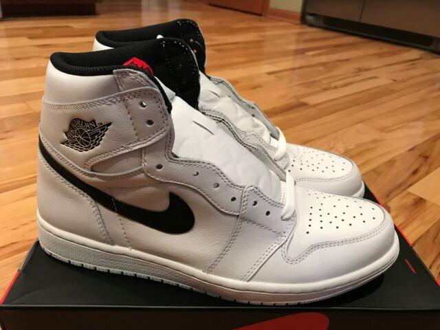 check out 39e94 e6823 Nike Air Jordan 1 Retro High OG Yin Yang White Black 555088 102 Men s Size  11