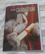 ME TO YOU BEAR ON YOUR GRADUATION 3D CARD