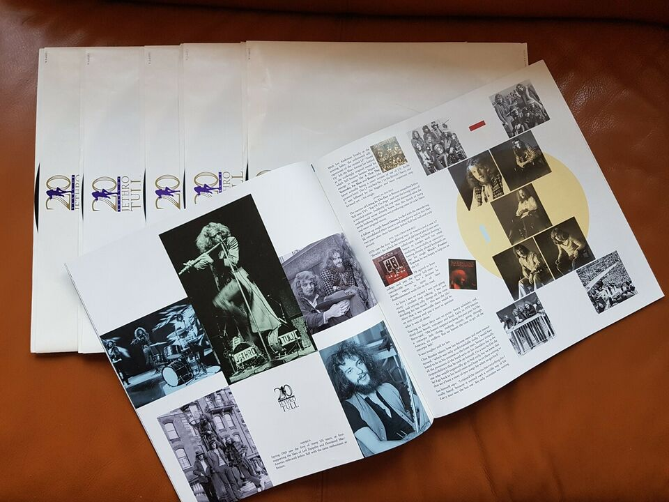 LP, Jethro Tull, 20 Years - Definitive Collection