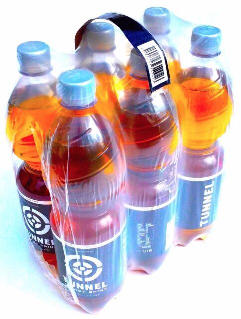 (1,91 €/ L) TUNNEL ENERGY DRINK • 6 x 1 Liter Flaschen inkl. 1,50 € EINWEG Pfand