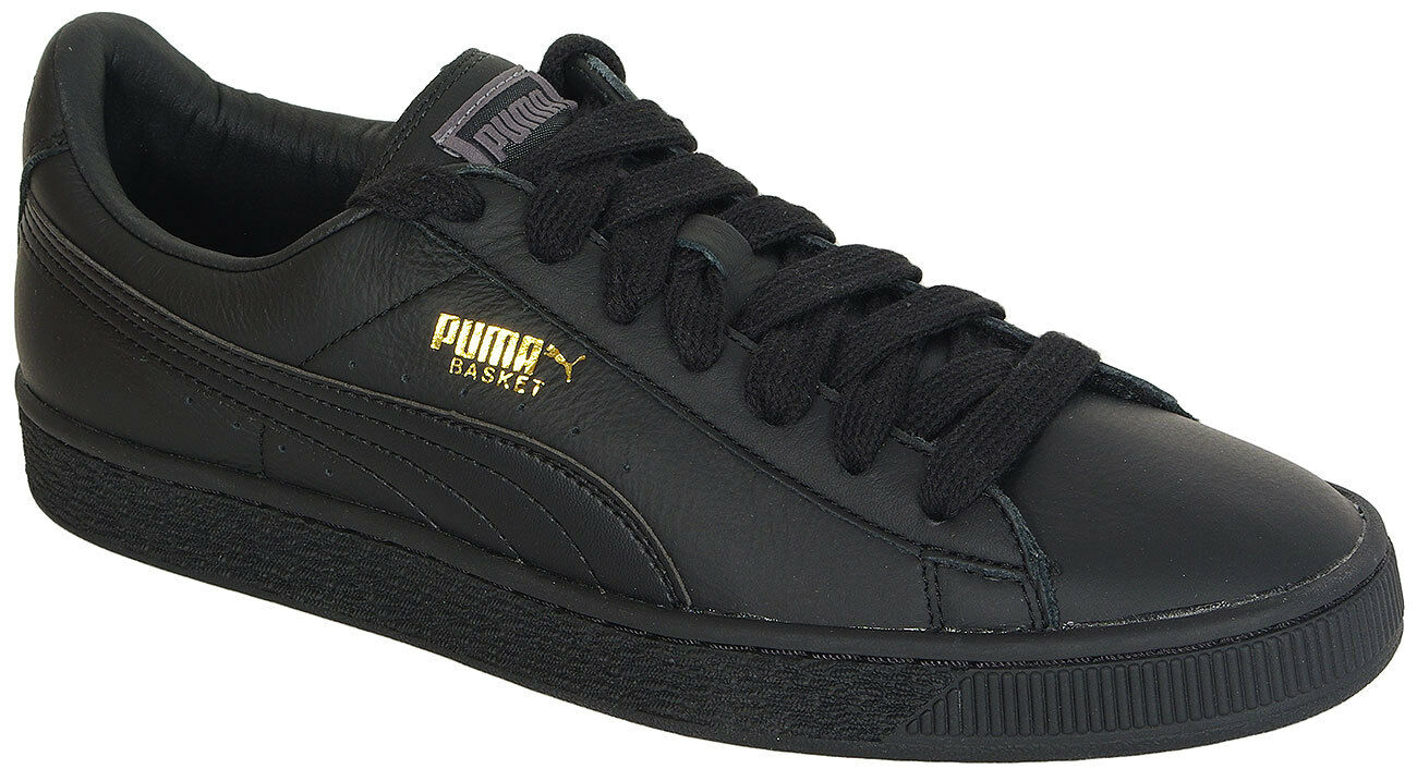 PUMA BASKET CLASSIC LFS BLACK-TEAM GOLD 354367 SNEAKERS SALE