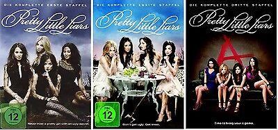 Pretty Little Liars - Season/Staffel 1+2+3 * NEU OVP * DVD Box Set