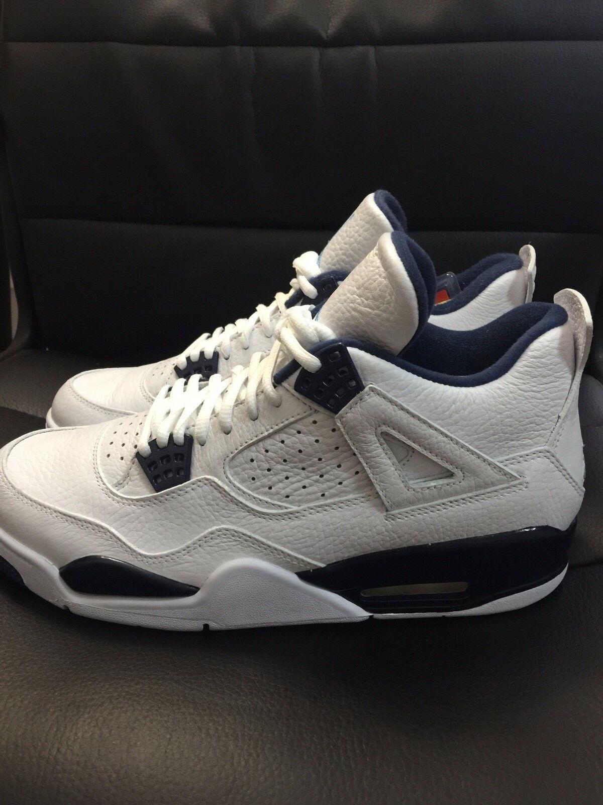 Air Jordan Retro 4 Legend bluee Size 10