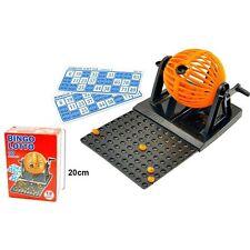 Bingo Lotto manuale di mini 90 numeri palle e 12 cartoni Set familiare