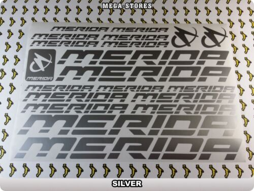 MERIDA Stickers Decals Bicycles Bikes Cycles Frames Forks Mountain MTB BMX 59JD