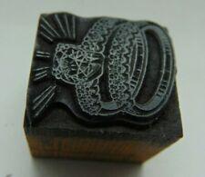 Printing Letterpress Printers Block 2 Wedding Rings