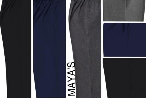 Kids School Pantalon Robuste Fit Plus Taille Semi-élastique 4//5Y jusqu/'à 12//13Y