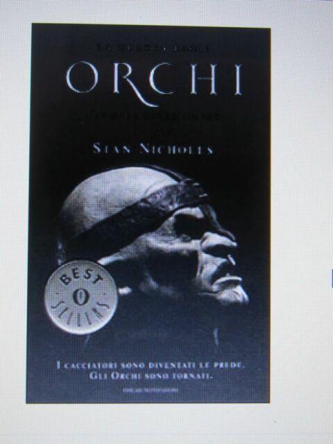 L'ARMATA DELLE OMBRE. La guerra degli orchi vol.2 - Stan Nicholls - 1a ed. NUOVO