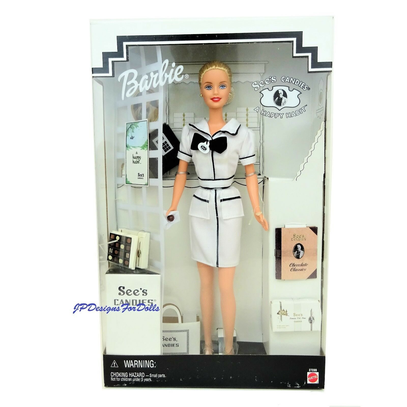 1999 Sees Candies Barbie Special Edition Doll 1st Series