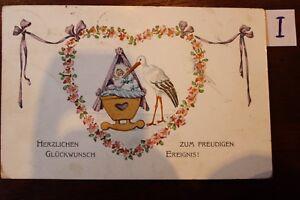 Carte Postale Vue Carte Motifs Félicitations Félicitations-afficher Le Titre D'origine Sang Nourrissant Et Esprit RéGulateur