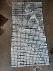 Image Is Loading Pottery Barn Kids 034 Green Blue Plaid