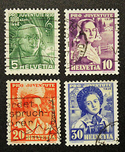 Stamp-Switzerland-Yvert-and-Tellier-N-298-IN-301-E-Obl-Cyn16