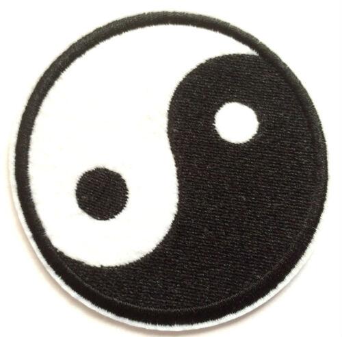 Yin und Yang Aufnäher / Aufbügler Symbol China Gut und Böse and & Chinese patch