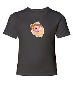 Nintendo-Super-Star-Kirby-Animal-Men-Women-Video-Game-Crew-Neck-Unisex-T-Shirt