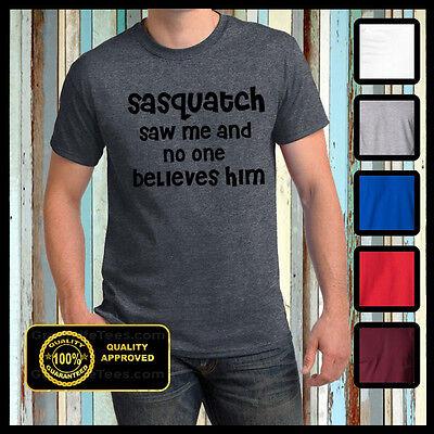 Funny Sasquatch Tshirt Gone Squatchin tee Bigfoot Animal Planet Big Foot t-shirt