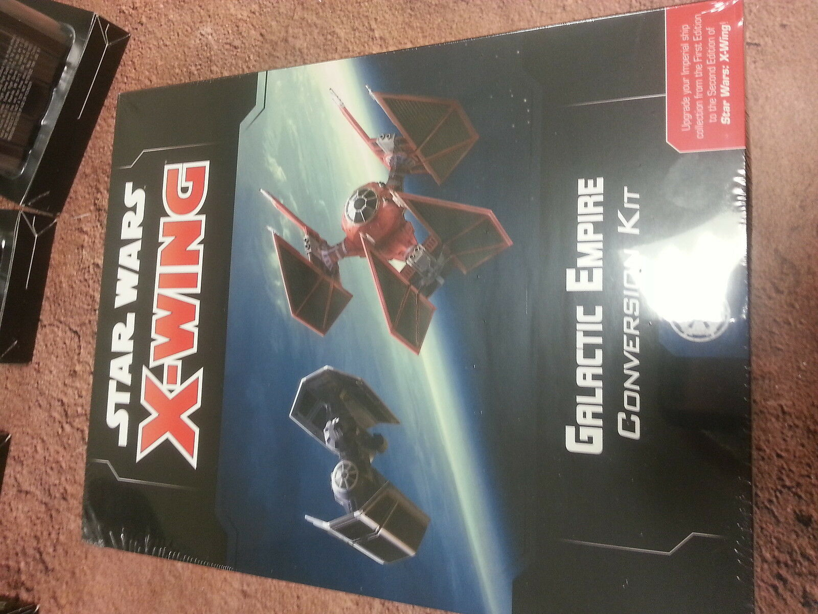 STAR WARS X-WING 2ND EDITION GALACTIC EMPIRE CONVERSION KIT - NEW AND SEALED