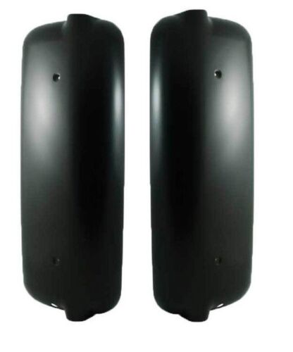 Freightliner Century Columbia OLDER THAN 2005 Left Right Black Mirror Cover Pair