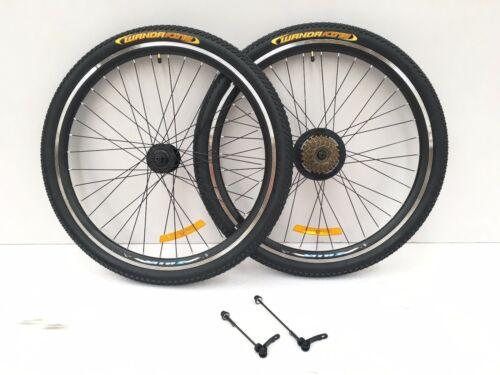 """tube tyre q release 26/"""" inch MTB bike Aluminum Alloy spoke wheelset wheel rims"""
