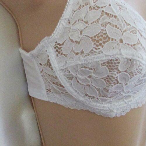 noir /& blanc 34-44 b-dd 2x dentelle full cup non-rembourré soutien soutien-gorge baleiné soutien-gorge