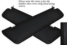 BLACK STITCH FITS MERCEDES VITO W639 04-11 2X SUN VISORS COVERS NO MIRROR MODELS