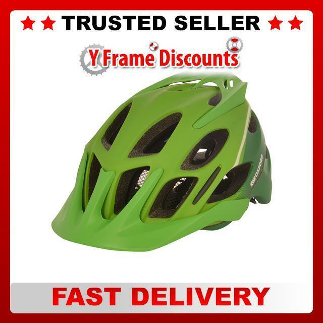 Oxford Tucano MTB Helmet , 58-61cm, Matt Green