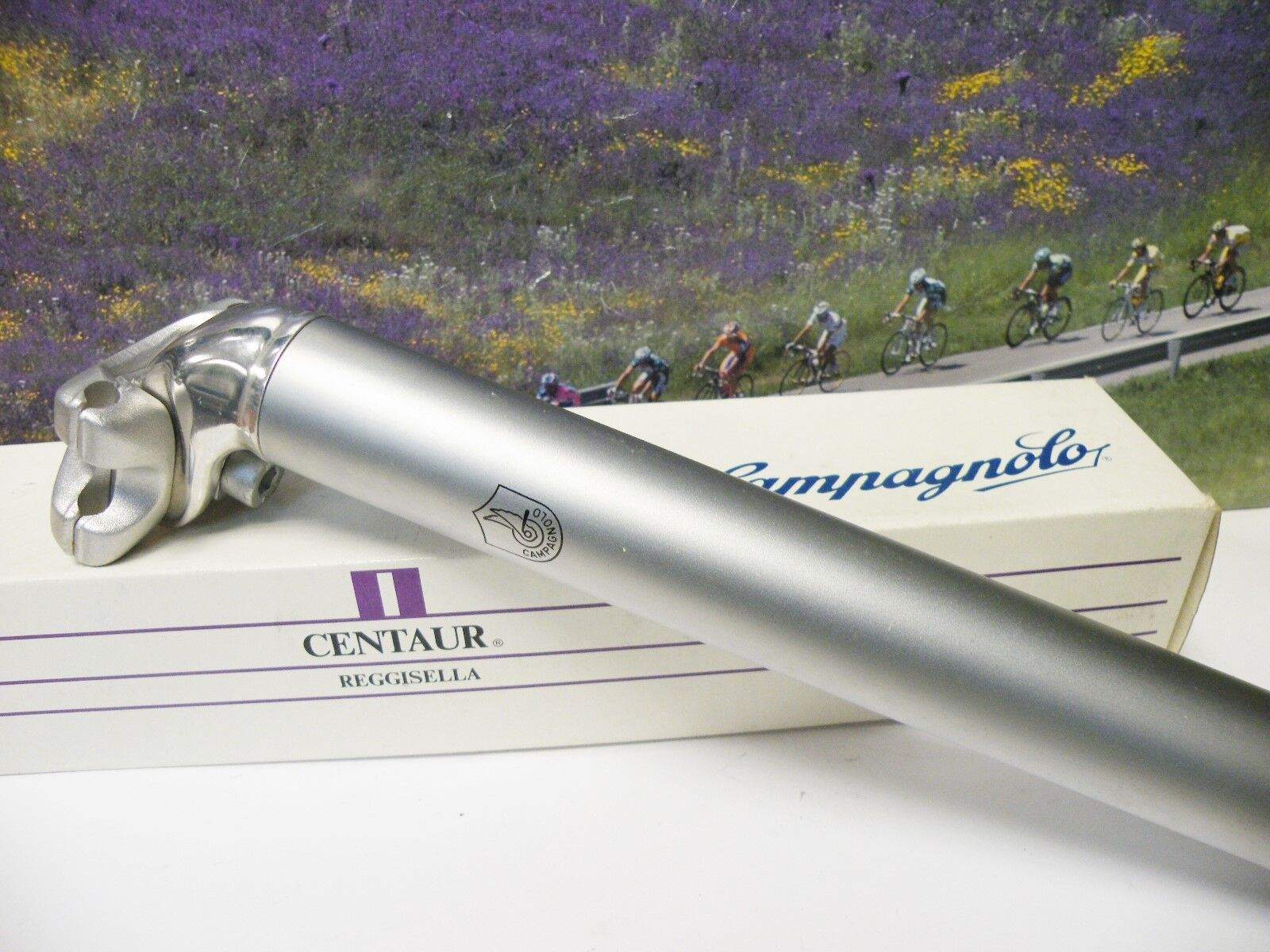 Campagnolo Centaur Sattelstütze seatpin seatpost 30mm MTB 280mm lenght,NOS