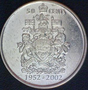 1952 2002 P Canada 50th Anniversary Of The Accession Of Queen Elizabeth Ii 50 Ebay