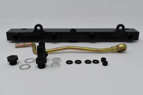 K-Series Billet Aluminum High Flow Fuel Rail K20 K24 2.0//2.4L RSX SI Civic KSwap