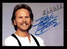 Frank Zander Autogrammkarte Original Signiert ## BC 87315
