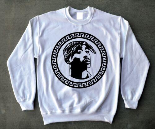 Tupac Shakur Jordan 12s Concord Crewneck 2pac Black Nylon 4 Sweatshirt 11s 4dwRx