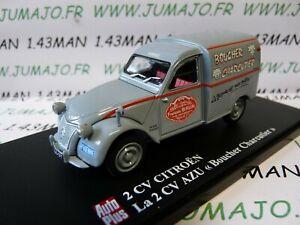 2CVAP16F-voiture-1-43-ELIGOR-Autoplus-CITROEN-2CV-n-9-camionnette-Boucher-Brun