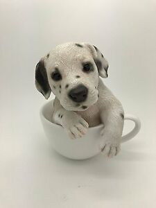 Dalmatian Puppy Dog Teacup Pet Pal Collection Figurine Statue Ebay