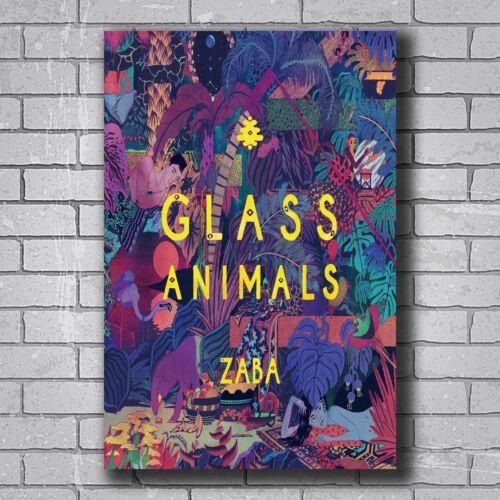 New Glass Animals Zaba Indie England Rock Music Band Custom Poster Print Art T96