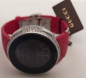 91451c47248 New Men s Gucci YA114212 Red 3.30ct.aprx.real Diamond Multiple Time ...
