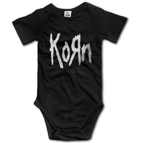 Korn Band Platinum Logo infant Baby Boy Clothes One PIECE Bodysuit