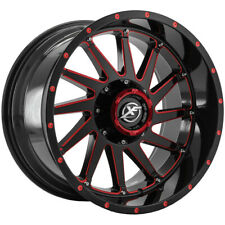 New Listing4 Xf Offroad Xf 216 20x10 6x1356x55 24mm Blackred Wheels Rims 20 Inch Fits More Than One Vehicle